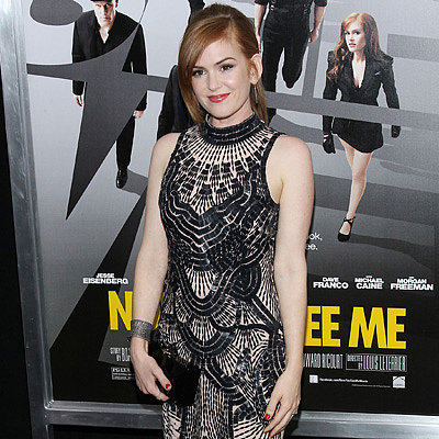 Isla Fisher and Mark Ruffalo at Now You See Me NYC Premiere
