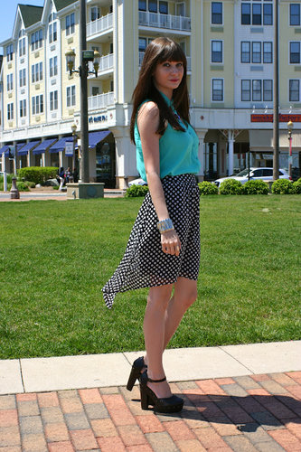 Polka Dot Chic outfit post by House Of Jeffers