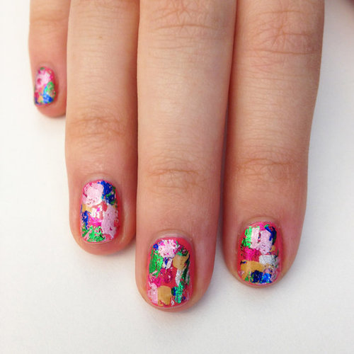 Excellent Easy to Do Nail Art Designs 500 x 500 · 42 kB · jpeg