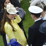 Pregnant Kate Middleton Pictures at Palace Garden Party