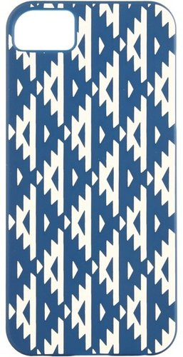 Rebecca Minkoff - Runway Print Case for iPhone 5 (Navy) - Electronics