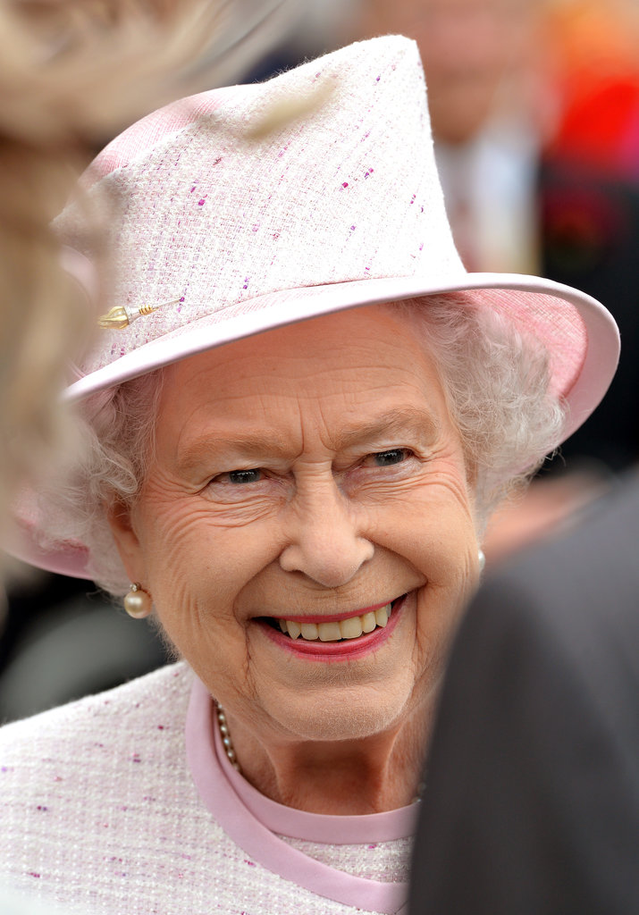 Queen Elizabeth enjoyed her annual garden party.