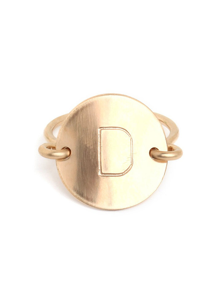 Wrap up something she can wear every day. This BaubleBar initial ring ($55) is a one-of-a-kind find that can be worn without taking a break.