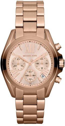 Michael Kors 'Bradshaw - Mini' Chronograph Bracelet Watch, 36mm