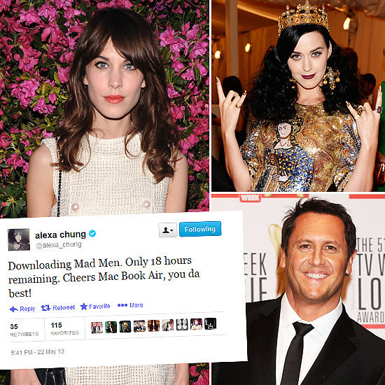Tweets Of The Week: Alexa Chung, Larry Emdur, Katy Perry & More!