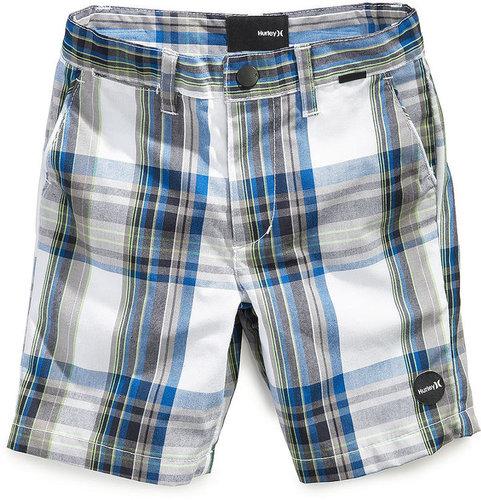 Hurley Kids Shorts, Little Boys Shank Plaid Walking Shorts