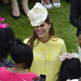 Pregnant Kate Middleton Garden Party Video