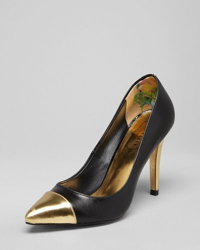 Ted Baker Pointed Toe Cap Toe Pumps - Saysa High Heel