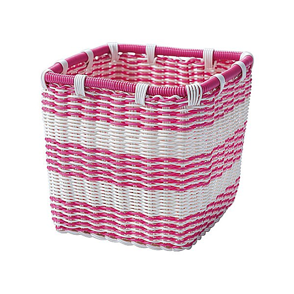 Crafted from tightly woven plastic, bodega baskets ($24) are a sturdy and superaffordable storage option for kids' rooms (or anywhere, really).