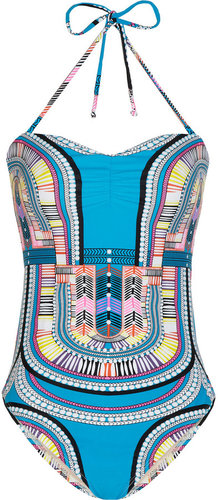 Mara Hoffman Electric Casino printed swimsuit