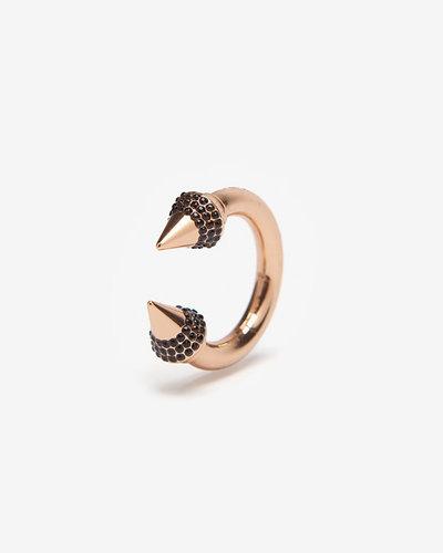 Vita Fede Black Crystal Titan Ring