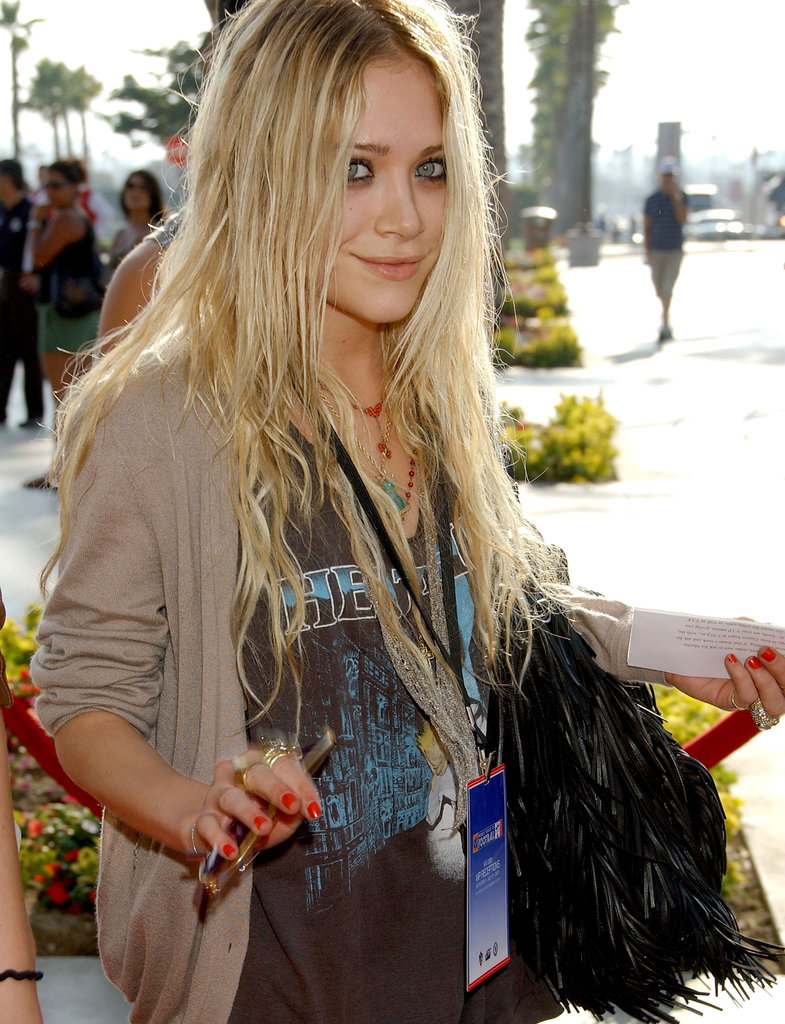 Mary-Kate Olsen arrived at David Beckham's first Galaxy match in July 2007.