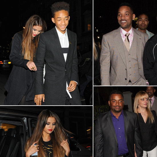 Selena Gomez and Jaden Smith Join a Mini Fresh Prince Reunion