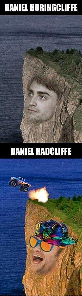 "Daniel ""Boringcliffe"" Meme"