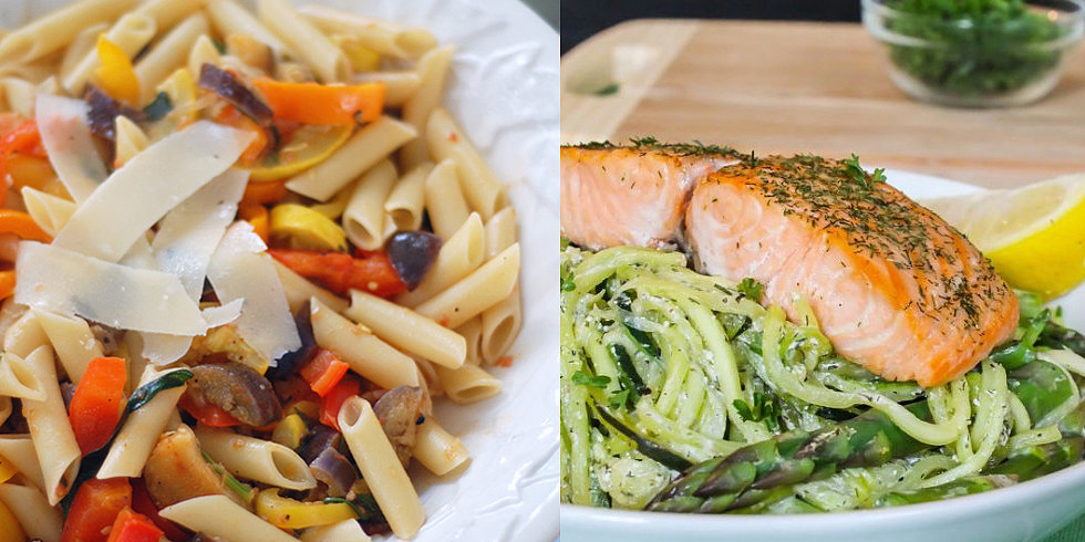 10 Healthy Spring Pasta Recipes
