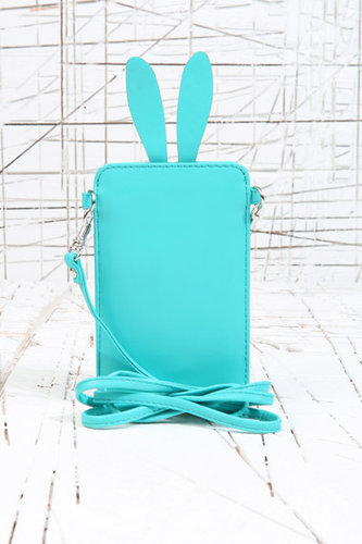 Cooperative Bunny Ears Phone Pouch in Green