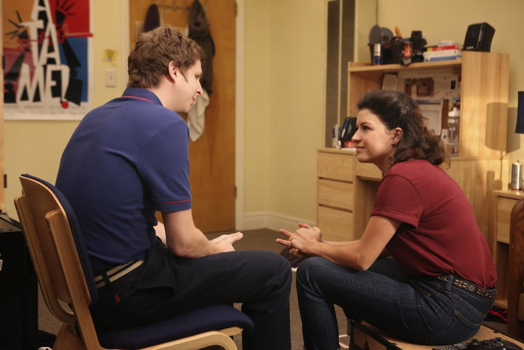 Michael Cera as George Michael and Alia Shawkat as Maeby on Arrested Development. Photos courtesy of Netflix