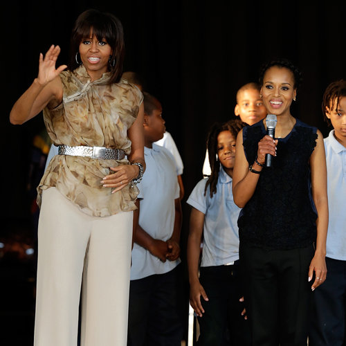 Michelle Obama and Kerry Washington in DC | Pictures