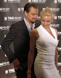Cameron Diaz Meets Up With Leo in Cannes