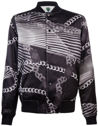 Human Potential Chains bomber jacket