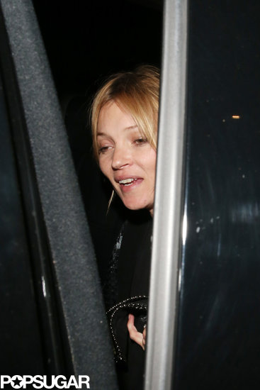Kate Moss Parties the Night Away in London Following Her Hong Kong Trip