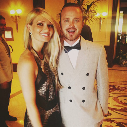 Aaron Paul and Lauren Parsekian Wedding Pictures