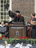 Ben Affleck spoke to Brown University's class of 2013.