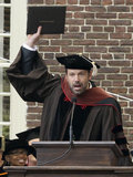 "Ben Affleck ""Passes Matt Damon"" With Honorary Degree"