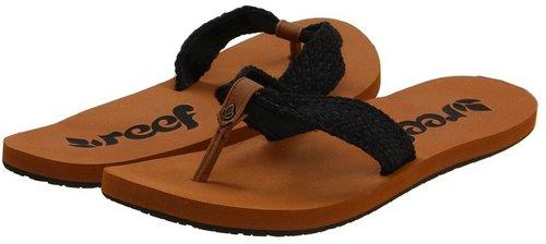 Reef - Mallory Scrunch (Black) - Footwear