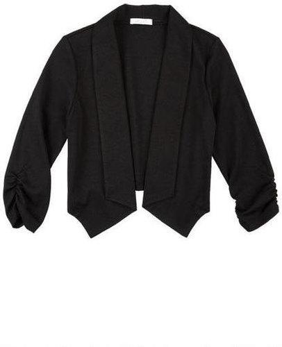 Open Blazer Sweatshirt