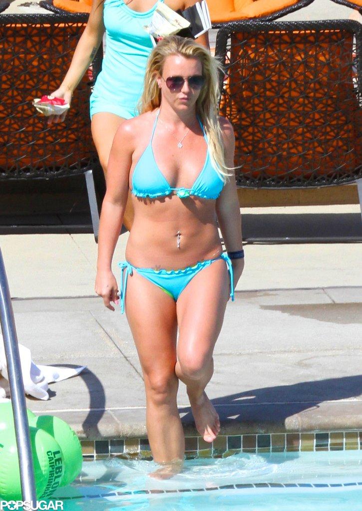 Britney Spears Wears a Bikini For a Weekend Getaway With Her Man