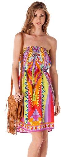 Pink Mascara Jenny Tube Dress