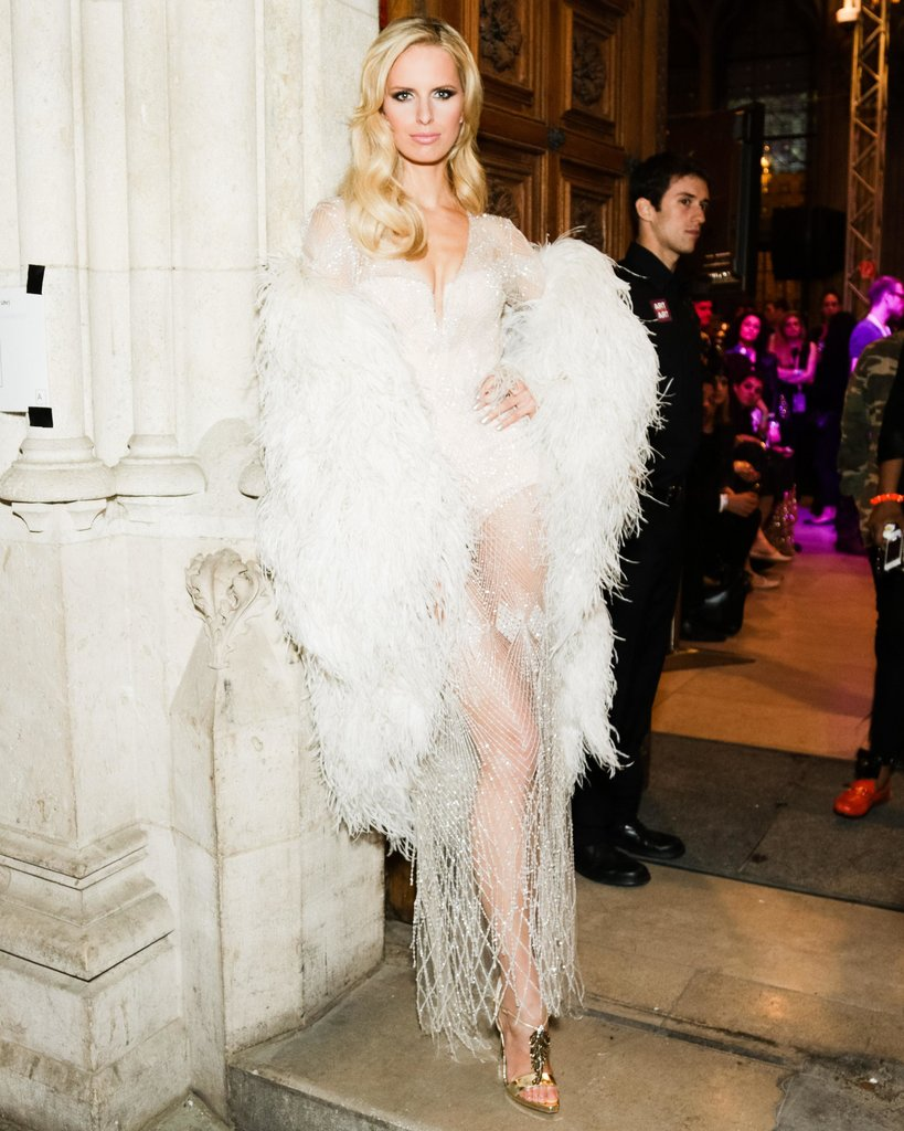 Karolina Kurkova wore Roberto Cavalli at the 2013 Life Ball in Vienna, Austria.  Source: Benjamin Lozovsky/BFAnyc.com