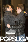 Bradley Cooper and Michael Fassbender share a mutual friend in Michael's X-Men costar Jennifer Lawrence, and the trio partied together at the 2013 BAFTA afterparty. Michael and Bradley have hung out without Jennifer, too, hitting the town together in LA in March and dining out in London in May.