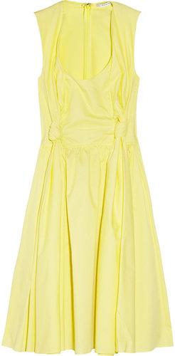 Carven Cotton-poplin dress