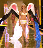 Heidi Klum strutted her stuff in November 2002 at the Victoria's Secret show.