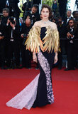 Laetitia Casta at the Cannes premiere of Zulu.