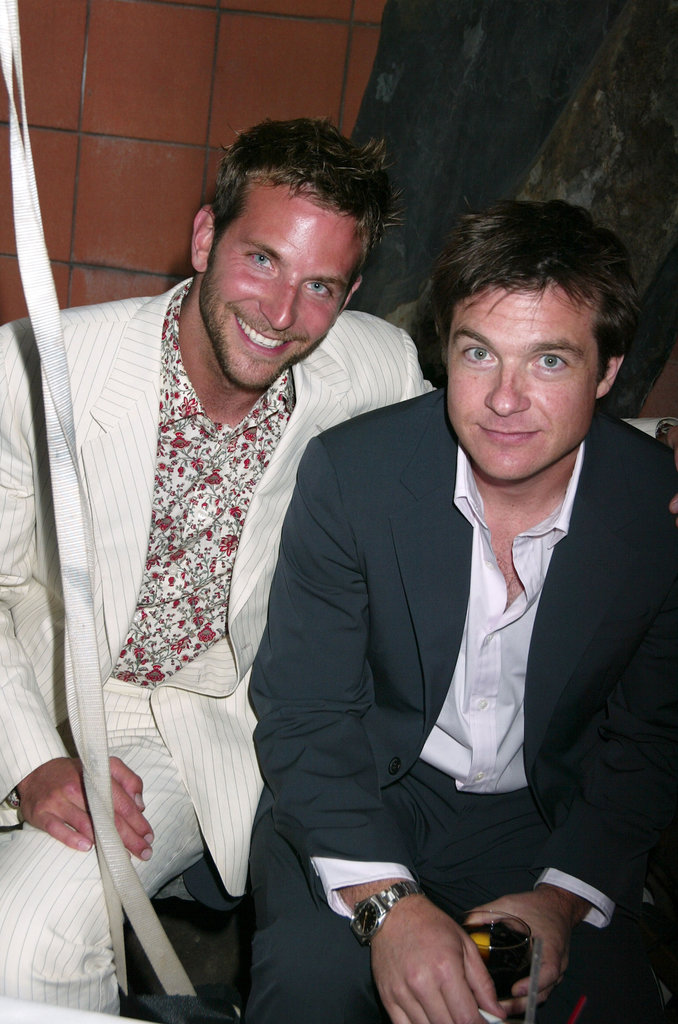 Bradley Cooper and Jason Bateman were brought together by their mutual friend Dax Shepard to star in 2012's Hit and Run.