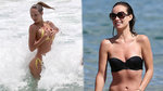 Olivia Wilde and Candice Swanepoel Kick Off Bikini Season!