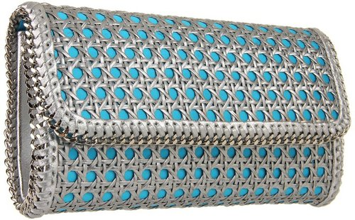 Franchi Handbags - Aura (Blue/Silver) - Bags and Luggage