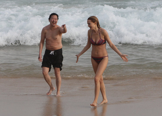 Bikini-Clad Heather Graham and Ken Jeong Hit the Beach in Rio