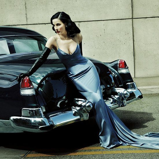 Exclusive: Behind the Scenes of Dita Von Teese's Latest Editorial