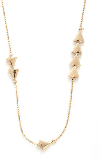 This Mod Cloth Thrice as Nice necklace ($13) is perfect for lay