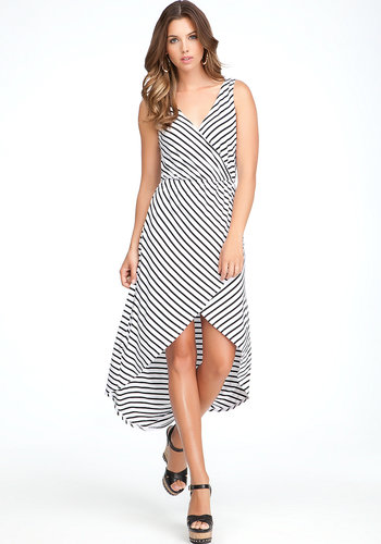 Crossover High Low Dress