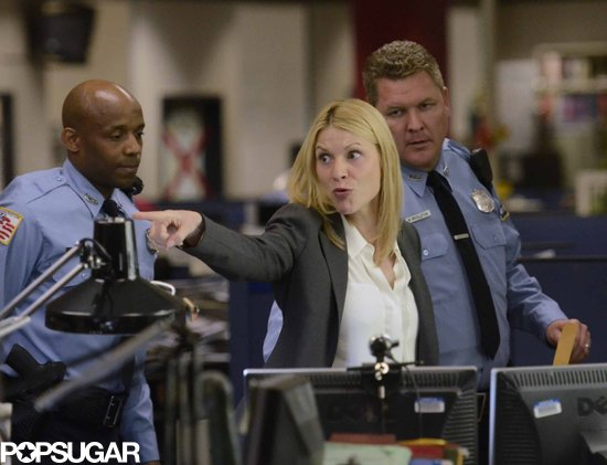 Claire Danes stars as Carrie Mathison on Homeland.