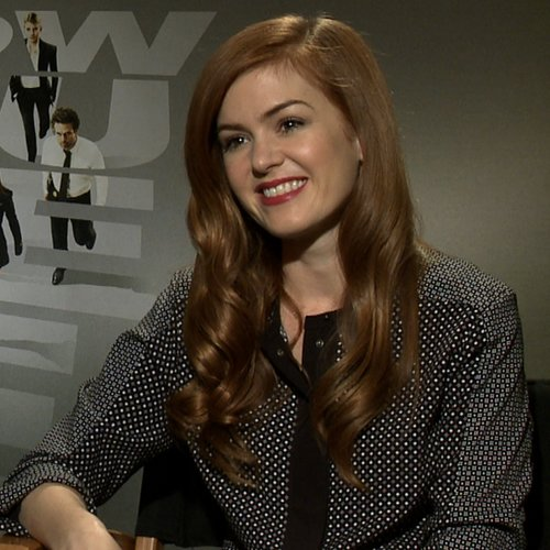 Isla Fisher Now You See Me Video Interview