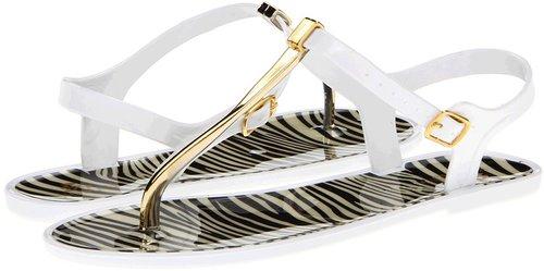 NOMAD - Twizzler (White/Gold Zebra) - Footwear