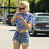 Diane Kruger in a Crop Top