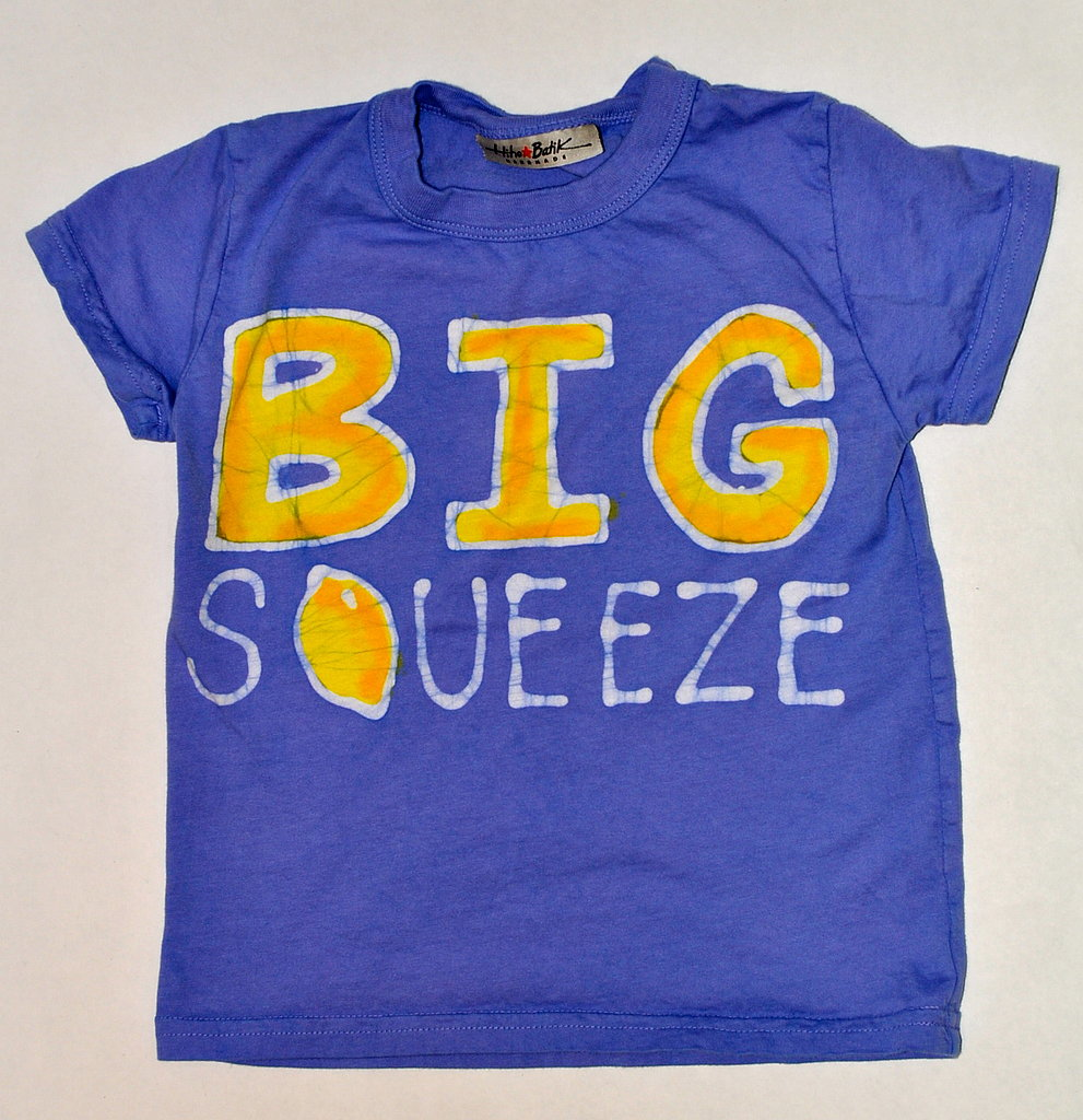 Brilliant Blue Big Squeeze Tee ($33)
