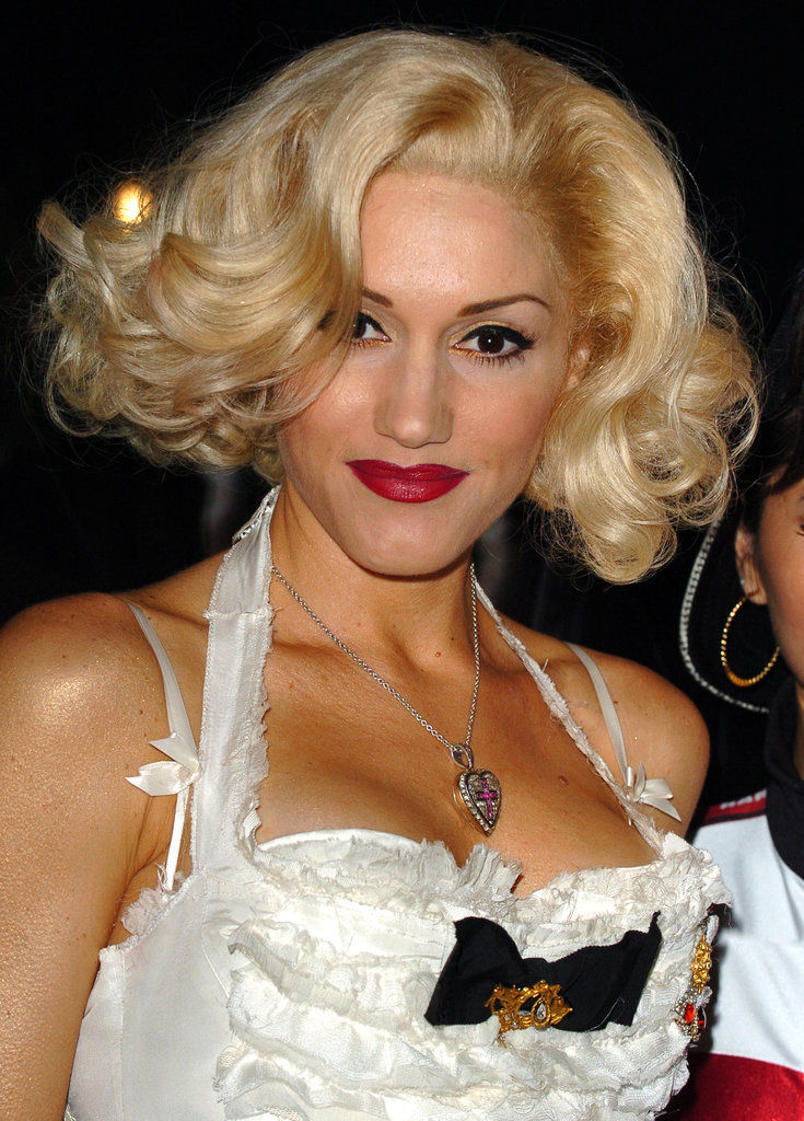 "Gwen Stefani has talked about molding her trademark look after Marilyn's, telling InStyle magazine that her hair color ""is L'Oréal, but I won't reveal the number. And I do my roots as often as Marilyn Monroe did hers. I'm serious. I found out."""